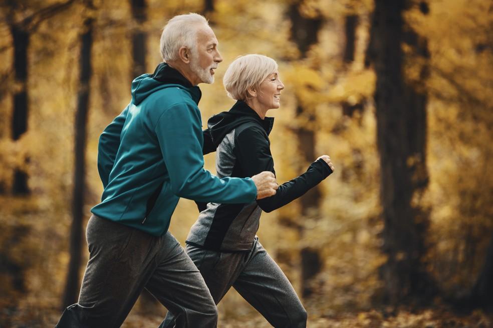 Quem corre tende a viver mais (Foto: iStock Getty Images)