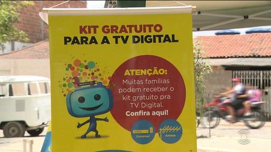 Técnicos visitam bairros de CG pra ajudar população a ver TV com sinal digital
