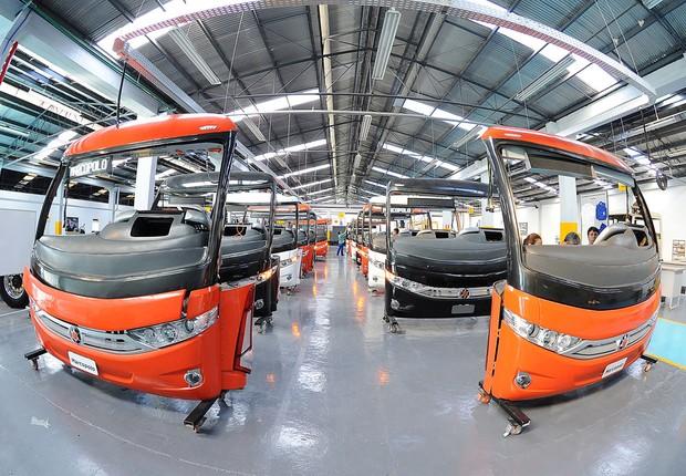 Centro de treinamento da Marcopolo , fabricante de ônibus (Foto: Divulgação)