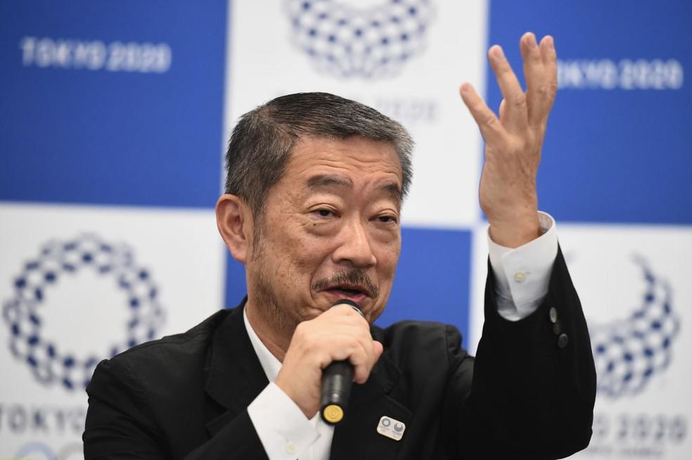 Hiroshi Sasaki, diretor artístico das Olimpíadas de Tóquio — Foto: Matt Roberts/Getty Images