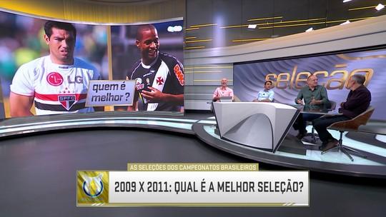 2009 x 2011: Qual é a melhor seleção do Brasileirão?