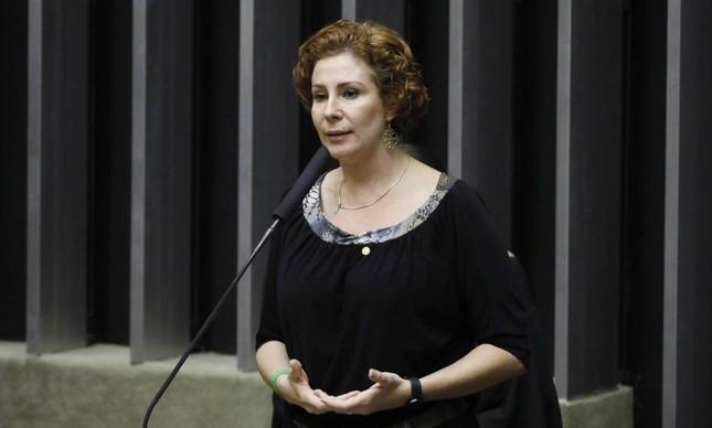 A deputada federal Carla Zambelli (PSL-SP)