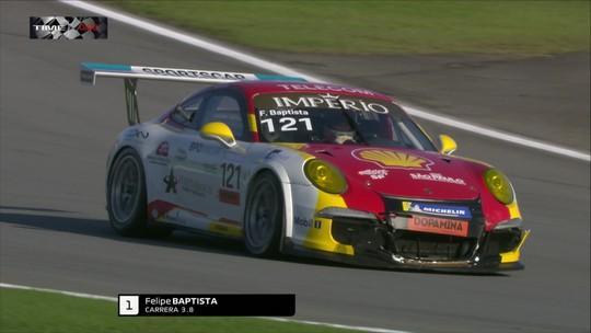 Felipe Baptista vence a etapa São Paulo da Porsche Carrera Cup