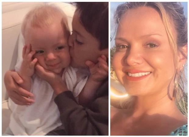 Eliana registra carinho entre os filhos (Foto: Instagram/Reprodução)