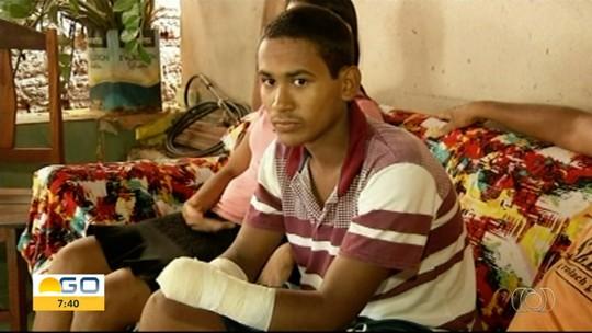 Adolescente de 16 anos tem as mãos amputadas após acidente com máquina agrícola, em Minaçu