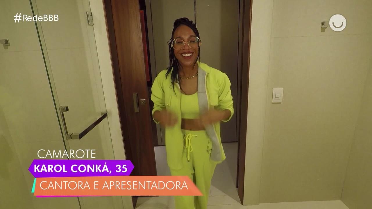Karol Conká, do BBB21, conta duas verdades e uma mentira no Diário do Confinamento