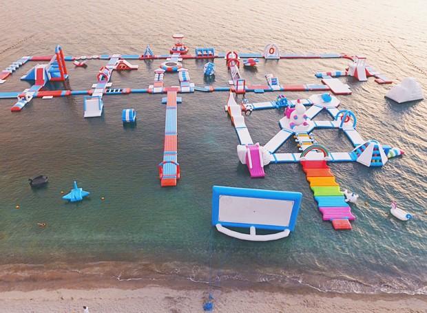 Inflatable Island, nas Filipinas (Foto: Divulgação)