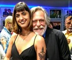 José de Abreu com a nova namorada, Carol Junger | Cristina Granato