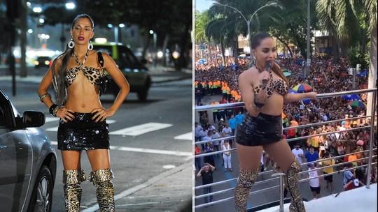 Anitta se inspira em Bebel, de 'Paraíso Tropical', para o Bloco das Poderosas