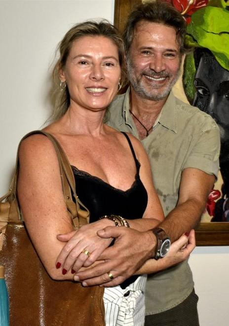 Nelson Freitas e Maria Cristina Cordeiro (Foto: Cristina Granato)