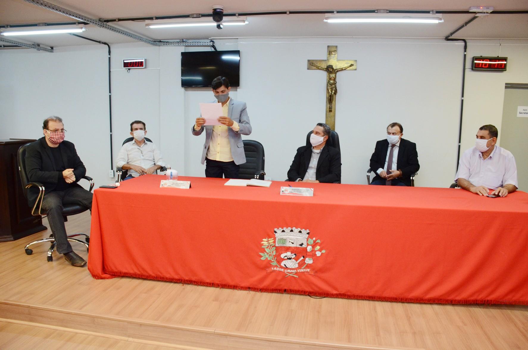 Wellington Bozo é empossado presidente da Câmara Municipal de Presidente Prudente