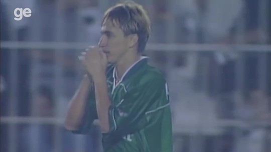 Assista: em clipe especial, Paulo Nunes reconta título do Palmeiras da Libertadores de 1999