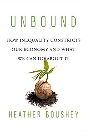 Unbound: How Inequality Constricts Our Economy and What We Can Do about It, by Heather Boushey (Foto: Divulgação)
