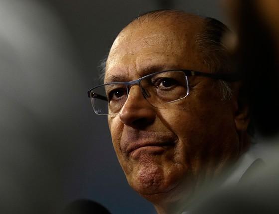 """Geraldo Alckmin, pré-candidato a presidente pelo PSDB: """"Ele nunca me cumprimentou"""", disse Souza (Foto: Jorge William / Agência O Globo )"""