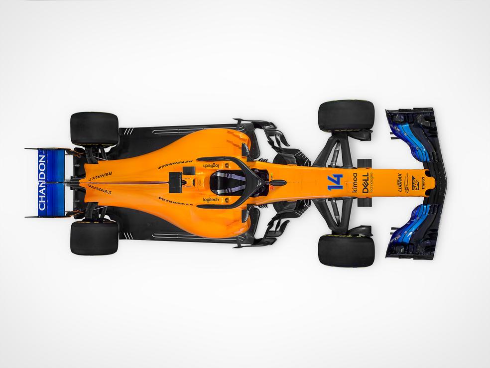 Novo McLaren-Renault MCL33 volta a ter as cores da origem da equipe (Foto: Divulgação/McLaren)