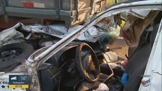 Dois acidentes deixam 7 feridos na Rodovia Anhanguera em Cravinhos e São Simão, SP