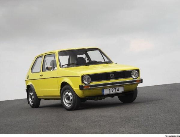 Volkswagen Golf 1974 (Foto: Italdedign)
