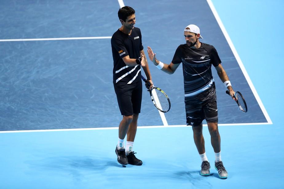21a7690fbab ... Marcelo Melo e Kubot vencem e avançam para as quartas de final em Indian  Wells