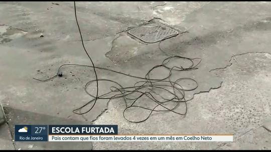 Escola em Coelho Neto sofre o quarto furto de fiação elétrica em apenas um mês