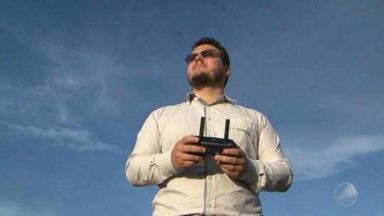 Com apps e drones, produtores apostam no uso de tecnologias em fazendas para alavancar agronegócio no oeste da Bahia