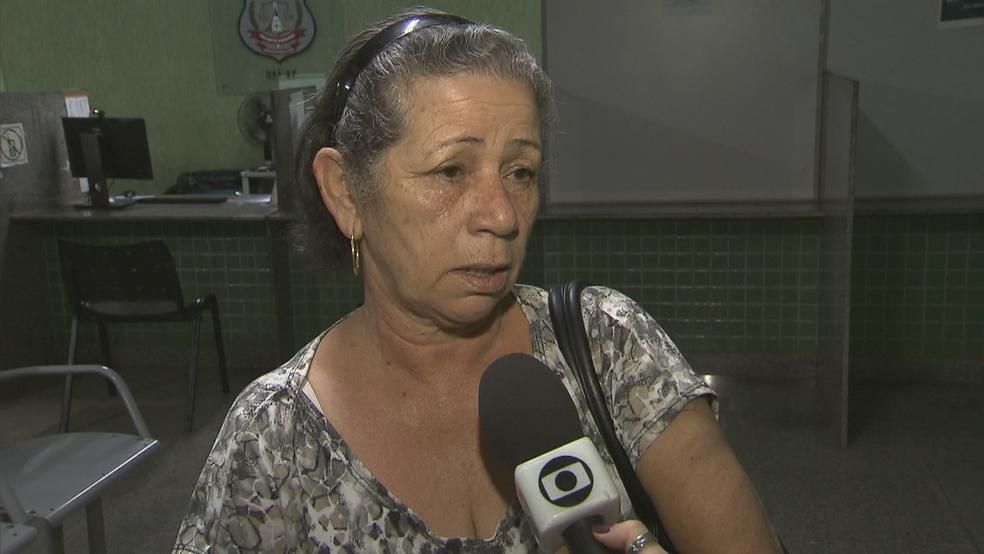 Avó da criança em entrevista (Foto: TV Globo/Reprodução)