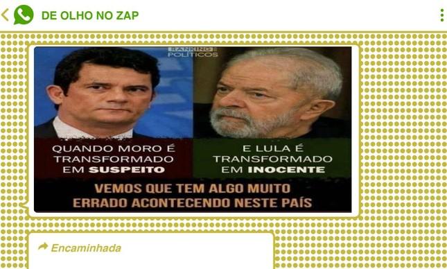 Suspeição de Moro foi vista como forma de 'inocentar' ex-presidente Lula