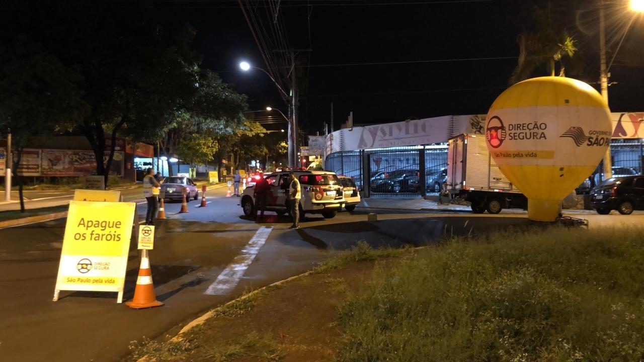 Fiscalização autua 14 motoristas por embriaguez ao volante em Sertãozinho, SP - Noticias