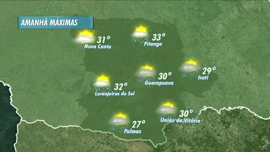 A previsão é de tempo instável pra este fim de semana na nossa região