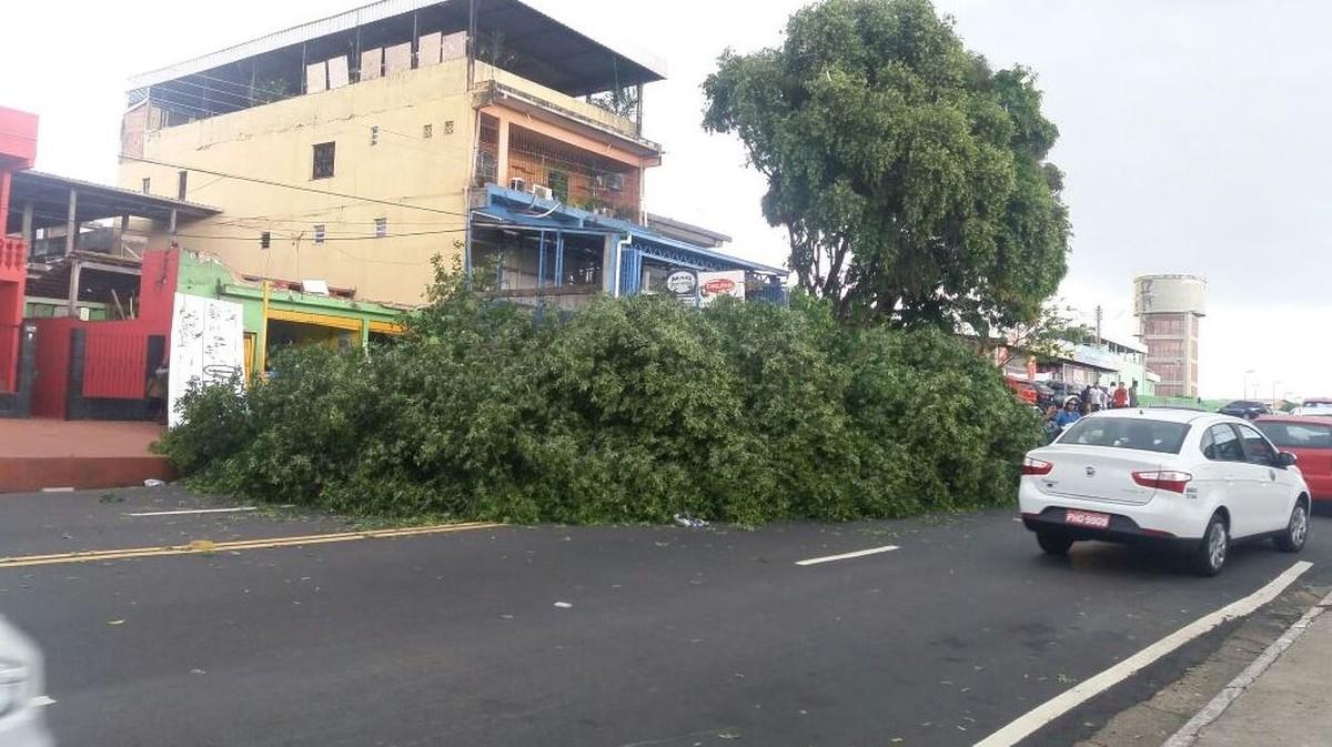 Chuva em Manaus causa deslizamentos e alagamentos em diversos pontos