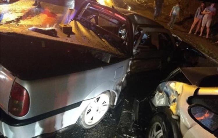 Adolescente morre e mais 5 ficam feridos em acidente em SC