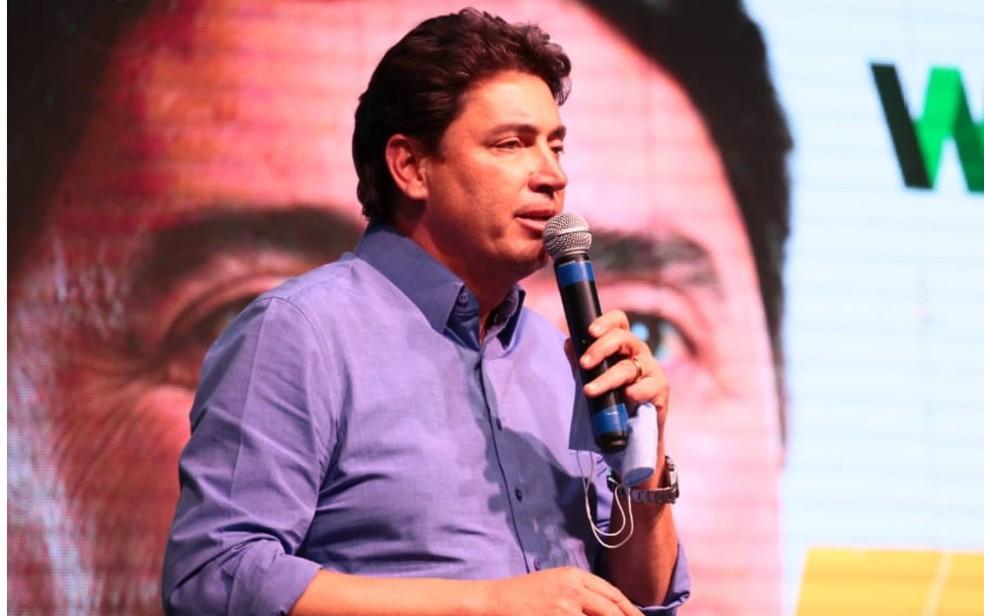 Wilder Morais é candidato a prefeito de Goiânia pelo PSC Goiás — Foto: Divulgação/Wilder Morais