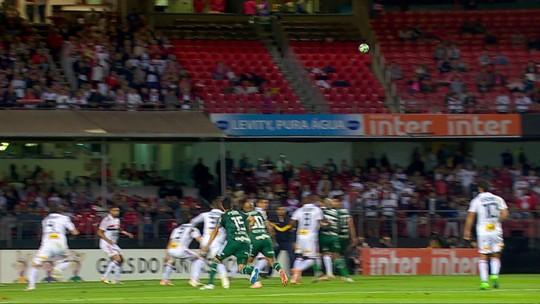 São Paulo 0 x 2 Palmeiras: assista aos melhores momentos