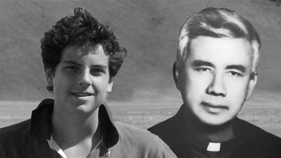 Carlo Acutis e Rutílio Grande  — Foto: Vatican News