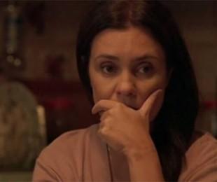 Adriana Esteves como Thelma em 'Amor de mãe' | Reprodução