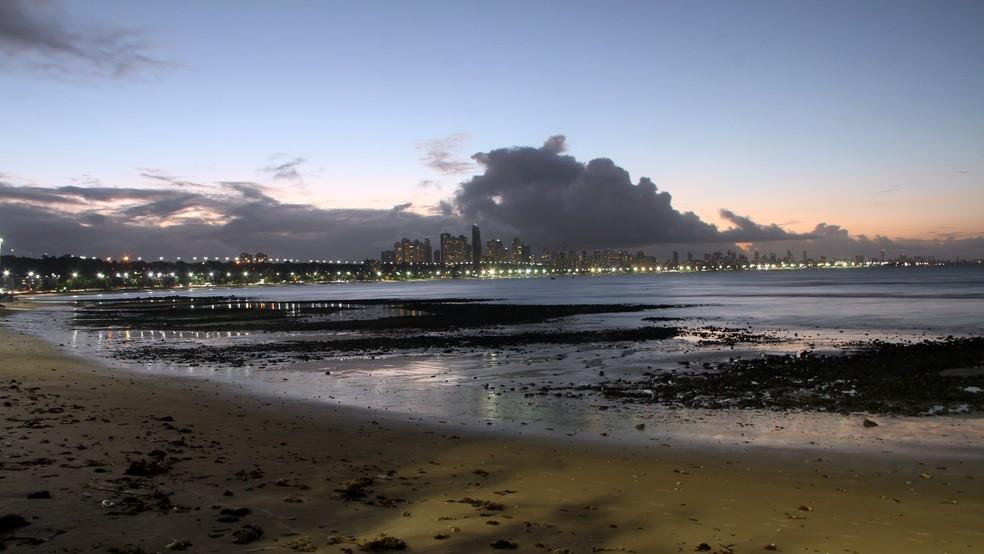 Chuva de meteoros vai poder ser vista a partir das 20h (horário local) no Leste da Paraíba, as praias de João Pessoa (Foto: Gabriel Costa/G1/Arquivo)