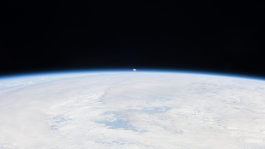 A nova fase de exploração da Lua deve servir para testar novas tecnologias para serem usadas em Marte — Foto: Nasa