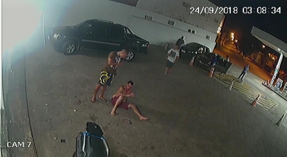 Servidor público é agredido por policial em São Luís — Foto: Reprodução/Divulgação