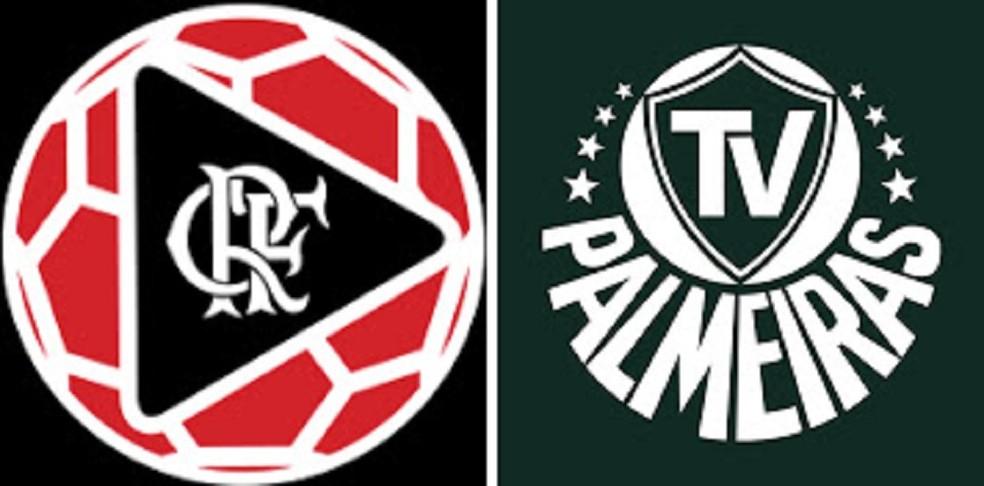 Fla TV x TV Palmeiras (Foto: Reprodução)