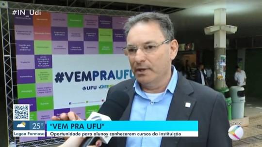 'Vem para UFU' ocorre nesta quinta-feira nos campus de Uberlândia