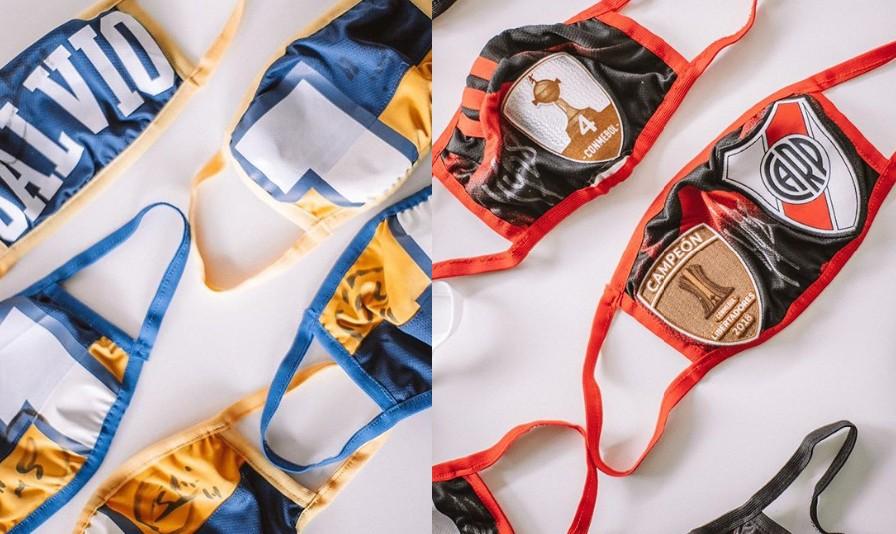 Jogadores do Boca Juniors e do River Plate doam camisas para transformar em máscaras contra COVID-19