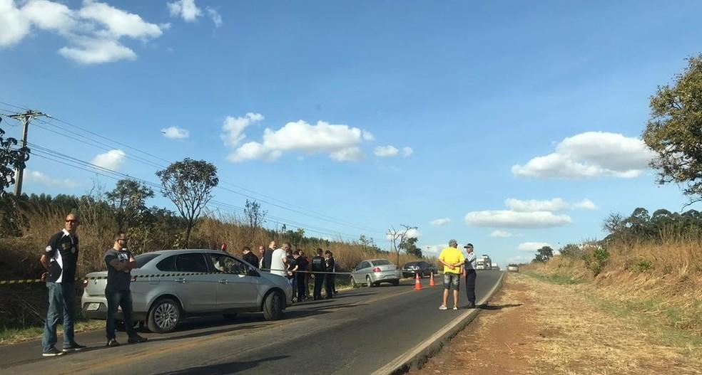 Local onde o corpo da advogada Letícia Sousa foi encontrado — Foto: Afonso Ferreira/G1