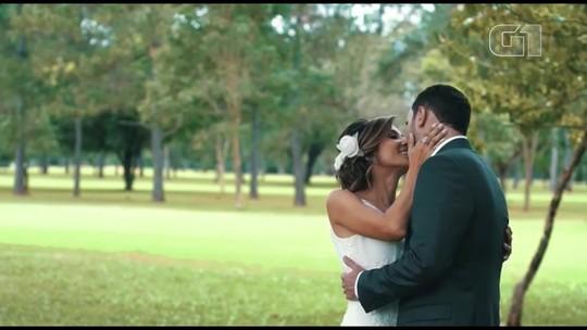 Sandy & Junior em Brasília: casal conta história de amor embalada pela dupla