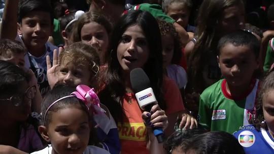 GE na Praça agita o sábado de Esmeraldas e leva multidão para a Praça Getúlio Vargas