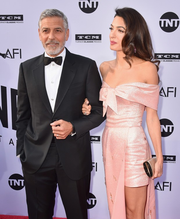 George e Amal Clooney (Foto: Getty Images)