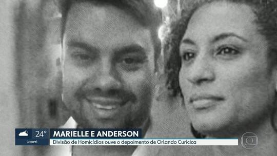 Caso Marielle: 'Orlando Curicica', preso em Bangu, é ouvido por 4 horas por delegado