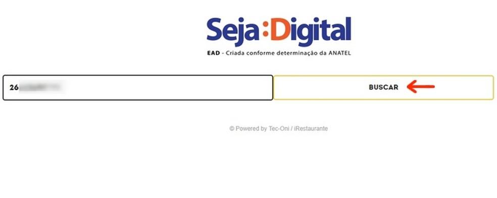 Página inicial para agendamento da retirada do kit (Foto: Reprodução/Raquel Freire)