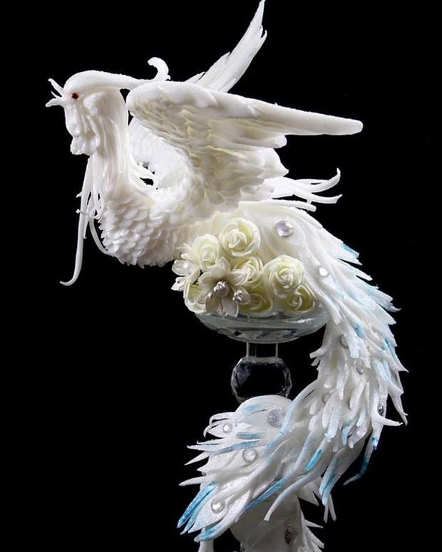Esculturas criadas pelo artista italiano Daniele Barresi (Foto: Reprodução/Instagram)