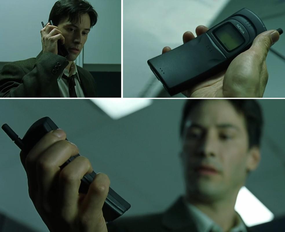 Nokia 8110 apareceu no filme 'Matrix' (Foto: Reprodução/Youtube)