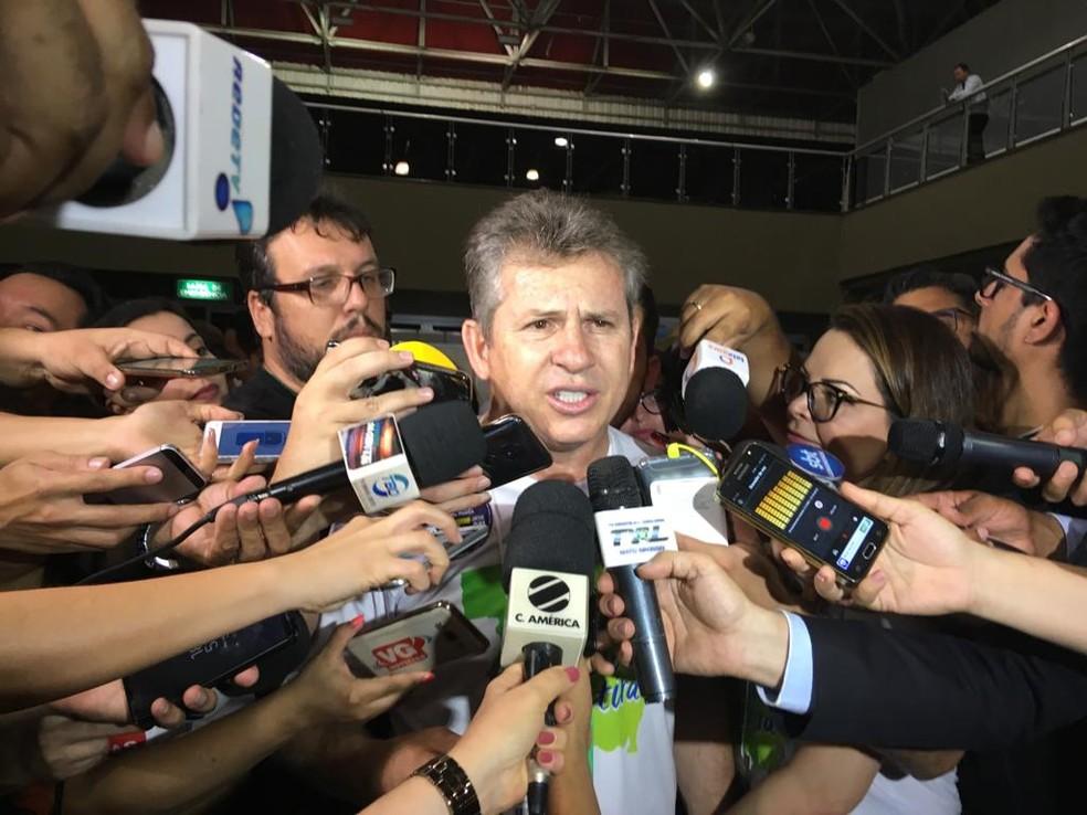 Mauro Mendes é eleito em Mato Grosso — Foto: Lidiane Moraes/G1