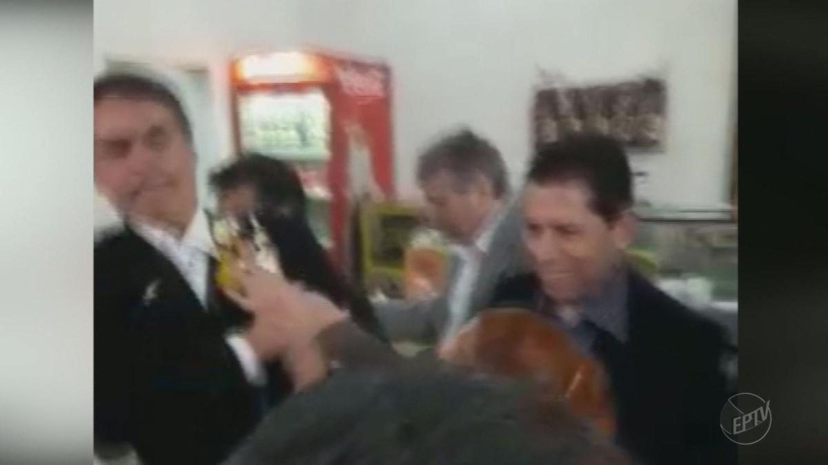 """Foto da matéria """"Jair Bolsonaro é hostilizado com ovada durante visita a Ribeirão Preto"""""""